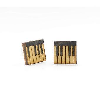 Piano Key Stud Earrings