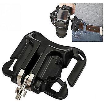 Bw camera belt clip system holster for dslr slr cameras canon nikon sony