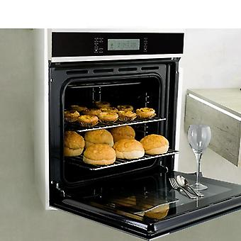 K90 Embedded Electric Oven, Lcd Touch Type 58 Liters Stainless Steel  Large