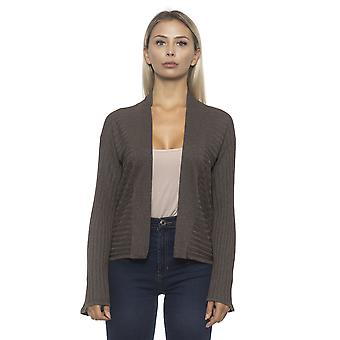 Cardigan Brown Alpha Studio Women