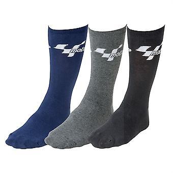 MotoGP Pack Of 3 Everyday Socks