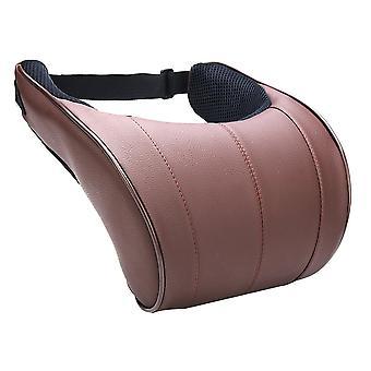Pu Leather Auto Car Neck Pillow