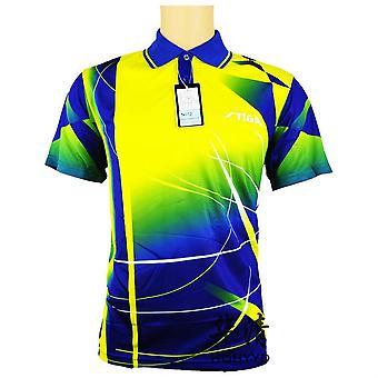 T-shirt tennis de table Maillot de ping-pong à manches courtes