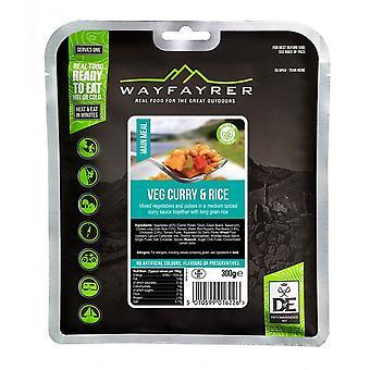 Wayfayrer zöldség curry és a rizs