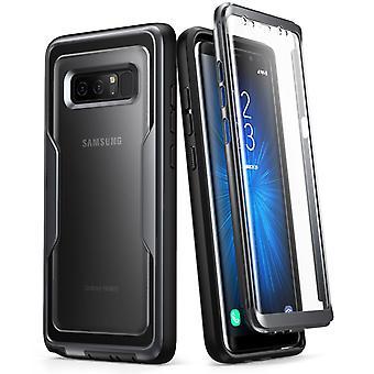 Galaxy Note 8 Case, Magma, i-Blason, Robust hölsterväska med skärmskydd - Svart