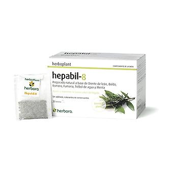 Herboplant Hepabil 8 infusion 20 infusion bags