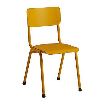 Quinine Sidechair - Aluminium - Yellow Ral 1018