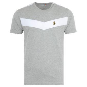 Luke 1977 Calvia Chevron T-Shirt - Grey