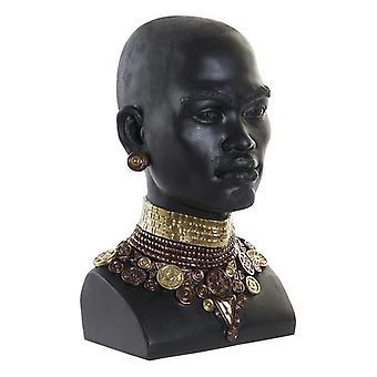 Dekorative Figur Dekodonia Harz Afrikanische Frau (22 x 20 x 36 cm)