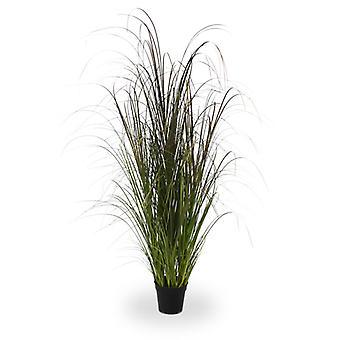 Erba di reed artificiale 120 cm in vaso
