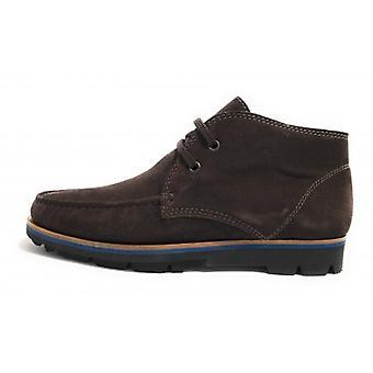 Men's Elite Polish Shoes In Suede Color Moro Head U18el01