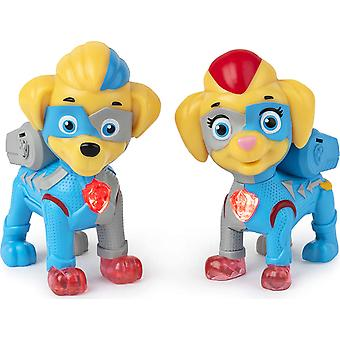 Mighty twins light up figure 2pk