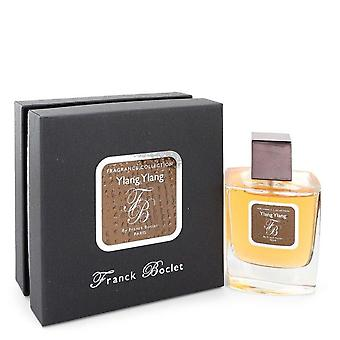 Franck Boclet Ylang Ylang Eau De Parfum Spray (Unisex) By Franck Boclet 3.4 oz Eau De Parfum Spray