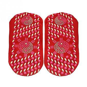 Outdoor Selbstheizung Socken magnetische Therapie, warme Wintersport Socke
