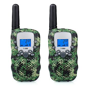 Cooja kinderen walkie talkies set, lange afstand walkie talkie 3km twee weg radio intercom walky talky b