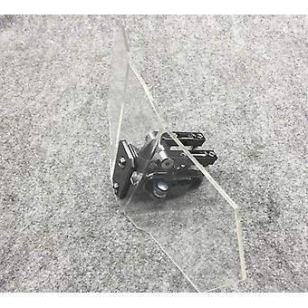 Einstellbare Windschutzscheibe Windschutz-Deflektor Universal Motorrad Windschutzscheibe
