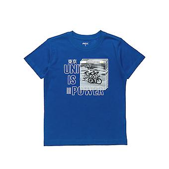 Alouette Boys' T-Shirt With Bicycle Print