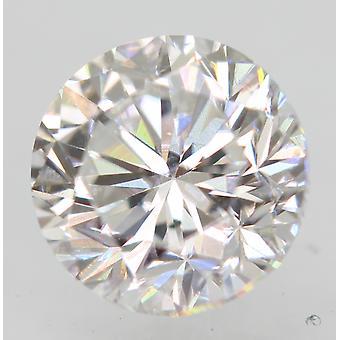 Certificado 0.71 Quilate D VS1 Rodada Brilhante Enhanced Natural Loose Diamond 5.29mm