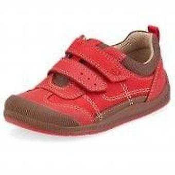 Start-rite red tickle shoes with toe buffer (medium)