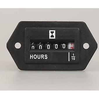 6 Digits, Hour Meter Complete Sealed Quartz Timer Counter For Air Conditioning