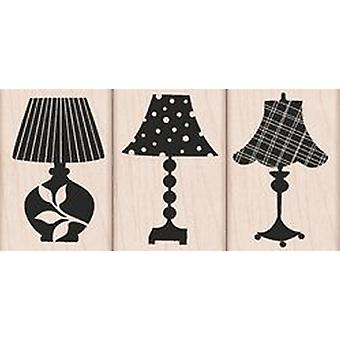 Hero Arts Decorative Lamps Rubber Stamp