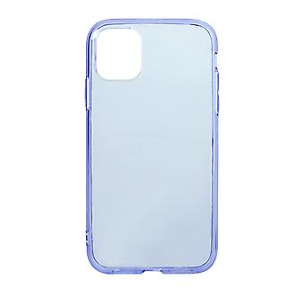 Phone Case (Purple) Clear ShockProof Soft TPU Silicone For iPhone 11 Pro