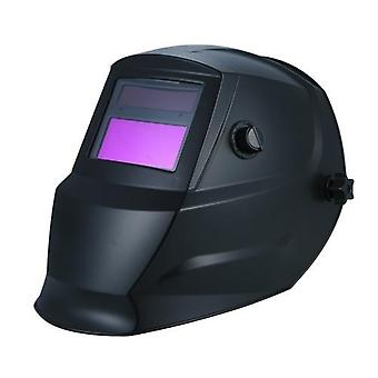 Welding Helmet Solar Powered Auto Darkening Protective Helmet Shield with Variable Shade from DIN9 to DIN13 Suitable for ARC TIG MIG Spot Micro Wire AC DC Plasma Welders/Cutters