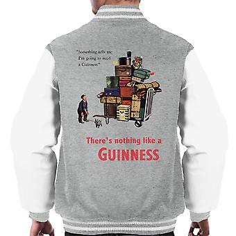 Guinness Theres Nothing Like A Guinness Men's Varsity Jacket