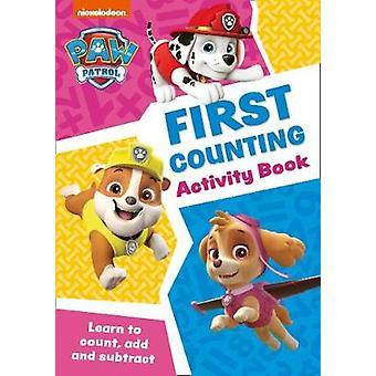 Paw Patrol First Counting Activity Book Machen Sie sich bereit für die Schule mit Paw Patrol