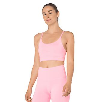 Womens Summer in the City Candy Pink Bra Top