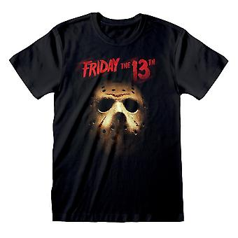Friday The 13th Mens Jason Voorhees Mask T-Shirt