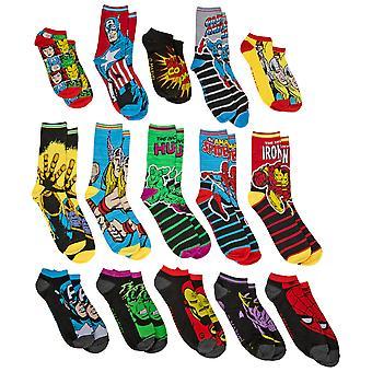 Marvel Comics 15 dager med sokker advent gaveeske herresokker