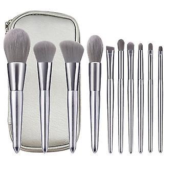 10 Silver makeup brushes makeup tools blush brush