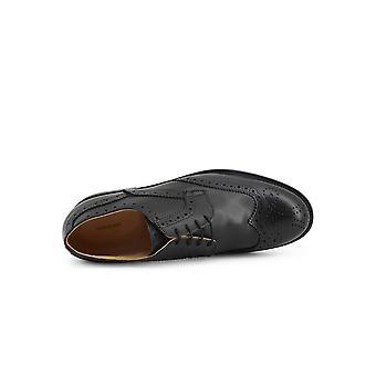 SB 3012 - Shoes - Lace-up shoes - S2-CRUST-NERO - Men -- Schwartz - EU 41