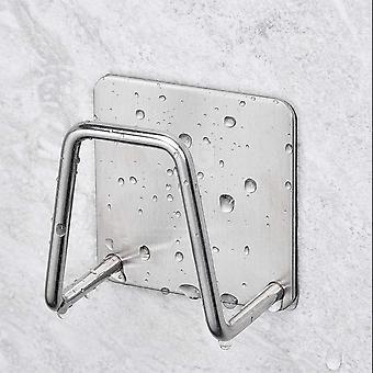 Punch free Toilettenpapierhalter zum Aufhängen, altes Badezimmer Dekoration Handtücher,