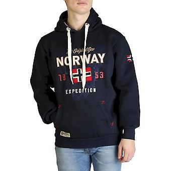Geographical Norway - Clothing - Sweatshirts - Guitre100-man-navy - Men - navy - L