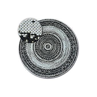 Matto pyöreä FLAT 48756/960 SISAL - lasimaalaus