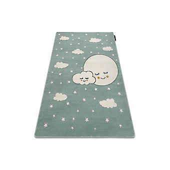 Teppich PETIT MOON Sterne, Wolken grün