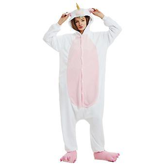 Regenboghorn Rainbow Tail Pegasus Costume Unicorn Pajama Onesie Kigurumi Jumpsuit