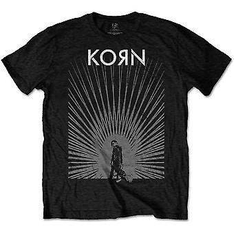 Korn - Radiate Glow Men's Medium T-Shirt - Black