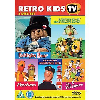 Retro Kids TV DVD