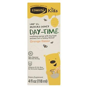 Comvita Manuka Honey Day Time Orange Flavor Kids, 4 Oz