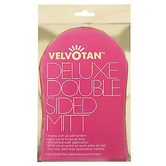 0.04m2 Velvotan  Deluxe Double Sided Tanning Mitt