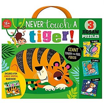 Never Touch a Tiger Jigsaw by Rosie Greening