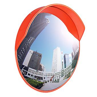 """Yescom 23"""" Wide Angle Security Convex PC Mirror Outdoor Road Traffic Driveway Safety"""