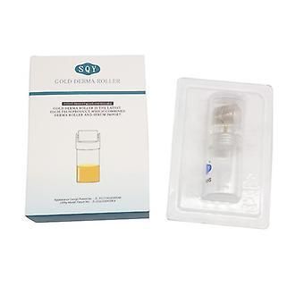 Guld- Derma rulle med buteljerar för serum - 0.25mm [03]