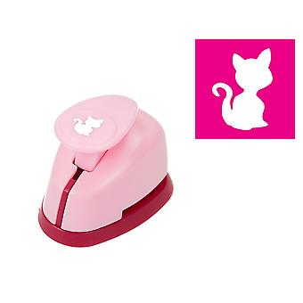 9mm mini kattunge eller katt spaken åtgärder Craft Punch   Papercraft stansar