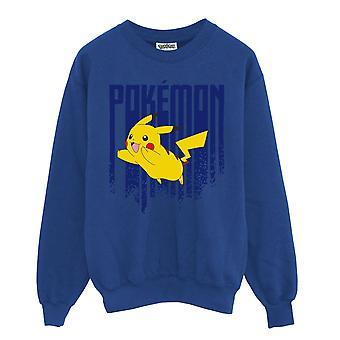 Pokemon Pikachu Męska Bluza Crewneck   Oficjalny towar
