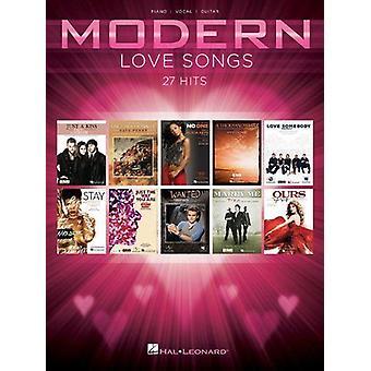 Modern Love Songs Piano, Voz y Guitarra 888680007591
