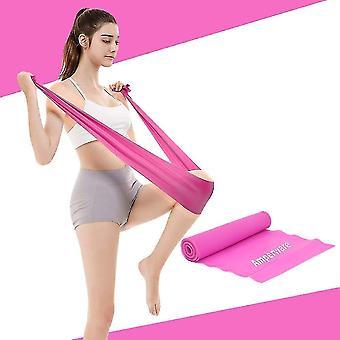 Banda elástica yoga mulheres e homens tensão força banda treinamento hip (rosa)